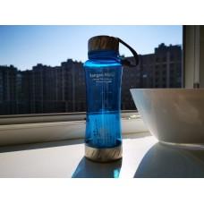 Blue Enagic bottle with logo 550ml