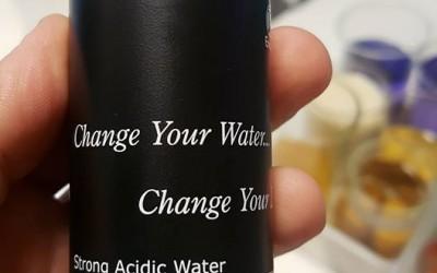 Сильнокислая вода PH2.5